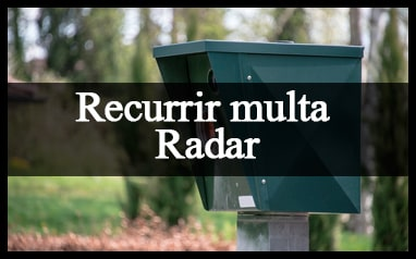 pasos recurrir multa radar