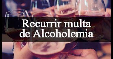 recurrir una multa de alcoholemia