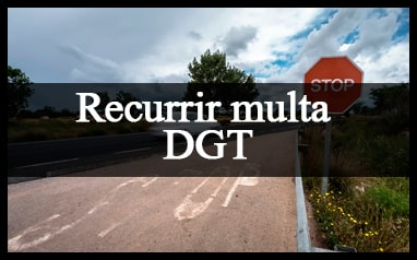 como recurrir multa direccion general de trafico