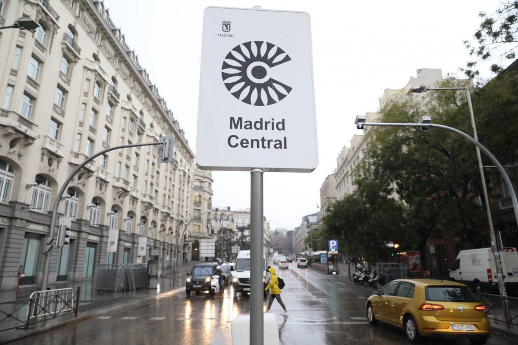 recurrir multa Madrid Central